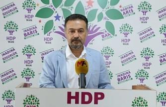 Dede: Van Valisi AKP'nin il başkanı gibi hareket ediyor