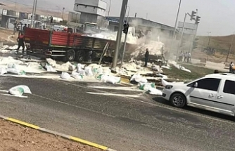 Alev alan TIR'da 3 kişi yaşamını yitirdi