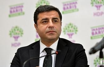 Demirtaş'a 'Saray'a giden savcı' iddianamesi