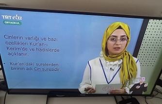 EBA'da 7'nci sınıf öğrencilerine 'cinler' anlatıldı