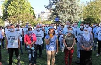 Gözaltı protestoları 4'üncü gününde: Tek çare direniş