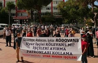 Maden işçileri Ankara'ya yürüyecek