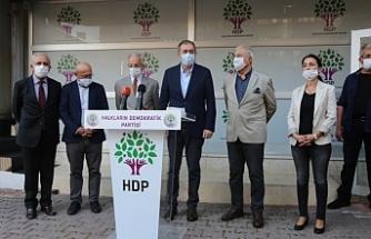 SHP eski Genel Başkanı Karayalçın'dan HDP'ye ziyaret
