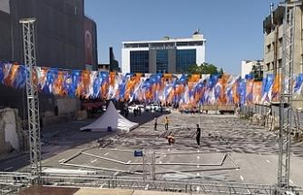 Van'da Valiliğin yasağı AKP'yi kapsamıyor!