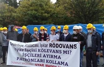 Direnen maden işçileri: İnsanca yaşam istiyoruz