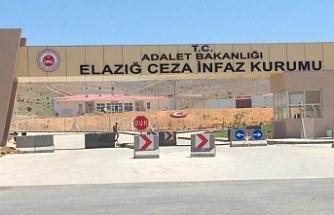 Elazığ Cezaevi'nde 9 tutuklu koronaya yakalandı