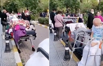 İzmir'de 4 hastane tahliye edildi