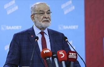 """Karamollaoğlu: Erdoğan eskiden """"Ananı da al git diyordu"""" şimdi """"Abartıyorsun"""" diyor"""
