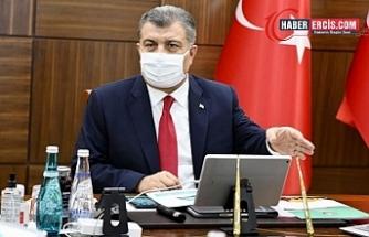 Koca: İstanbul'un 28 ilçesinde vaka artışı yüzde 50'nin üzerinde, 75 can kaybı daha
