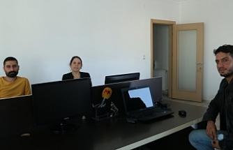MLSA'dan Van'da Mezopotamya Ajansı'na dayanışma ziyareti