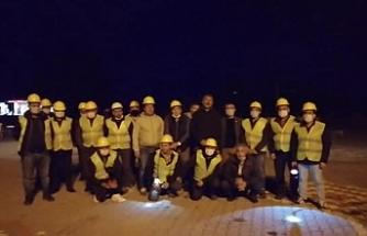 Somalı maden işçileri, bir ekip oluşturarak İzmir'e gönderdi
