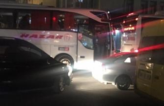 Van'da AKP kongresi için çevre illerden yurttaşlar taşındı