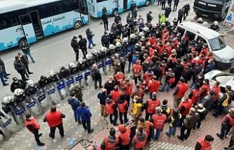 Gözaltına alınan 109 işçi serbest bırakıldı