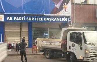 Kayyım AKP binasının hizmetinde!