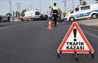 Erciş yolunda trafik kazası: 1 ölü