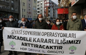 Şırnak'ta gözaltılara tepki: Meydan okuyoruz