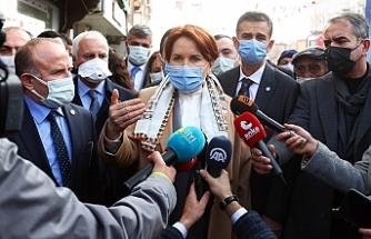 """Akşener'den HDP ile """"ittifak"""" sorusuna yanıt"""