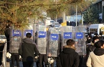 Ankara'ya gelmeye çalışan metal işçilerine engelleme