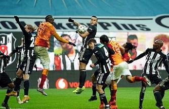 Beşiktaş evinde Galatasaray'ı 2-0 yendi