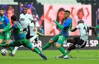 Beşiktaş, Rizespor'u 6-0 mağlup etti