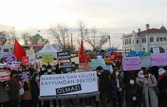 Boğaziçi eylemleri sürüyor: Kayyımları Kürt halkından tanıyoruz