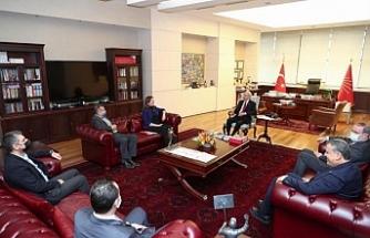 DİSK'ten CHP'ye ziyaret