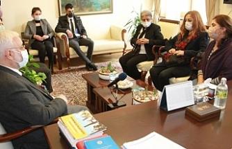 Güneş'in yakınları Meclis'te HDP ve CHP'yi ziyaret etti