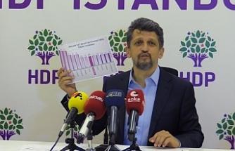 HDP'den Faiz Raporu: Tek adam rejimi sebep, faiz sonuçtur