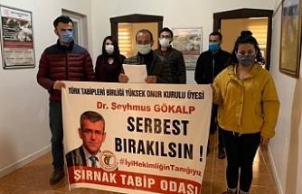 Şırnak'tan Dr. Gökalp'in serbest bırakılması talebi