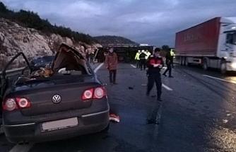 Tarsus'ta kaza: 5 ölü, 2 yaralı
