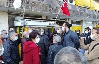 İzmir'de Demirtaş açıklamasına polis engeli