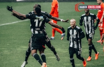 Beşiktaş Gaziantep'i 2-1 mağlup ederek zirveye yükseldi
