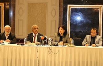 Buldan ve Sancar: Parti kapatma krizleri derinleştirir