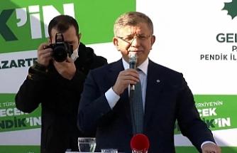 Davutoğlu'ndan Kürtçe tepkisi: Bu ne biçim bir zulüm