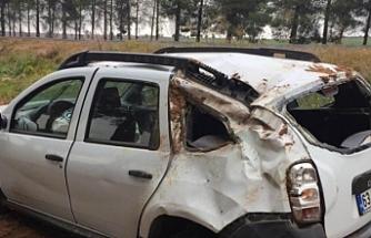 HDP'li kadınlar kaza yaptı: 4 yaralı
