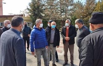 HDP'den korucuların tehdit ettiği aileye ziyaret