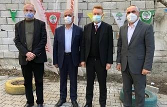 Van'da Avustralya Büyükelçisi İnnes-Brown'dan HDP'ye ziyaret