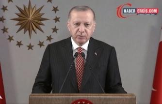 Cumhurbaşkanı Erdoğan: Yabancılar yollarımıza, köprülerimize, gıptayla bakıyor