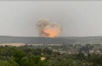 İsrail'de roket motoru fabrikasında patlama