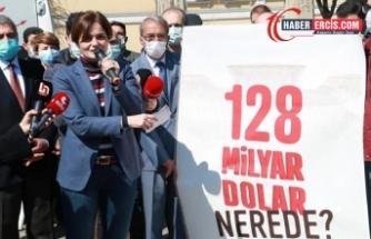Kaftancıoğlu: 128 milyar doların akıbetini sormaya devam edeceğiz