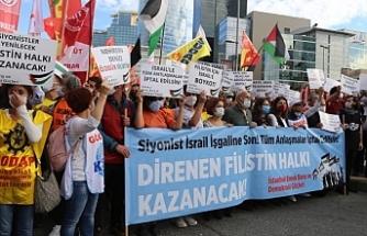 Emek ve Demokrasi güçlerinden Filistin ile dayanışma mesajı