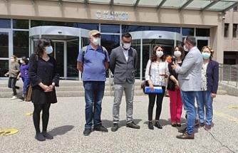 Gazeteci Uyanık'tan polisler hakkında suç duyurusu