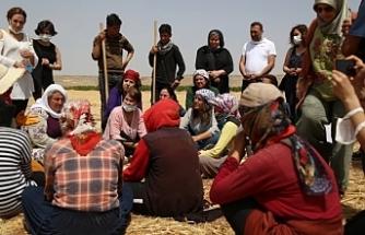 HDP Kadın Meclisi tarım emekçileriyle bir araya geldi