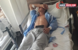 Van'da gardiyan silahıyla çocuk yaraladı
