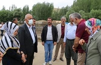 Buldan ve Sancar'dan Van'da selde zarar gören yurttaşlara geçmiş olsun telefonu