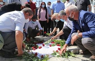 Van'da Sefo Deresi'nde katledilenler anıldı