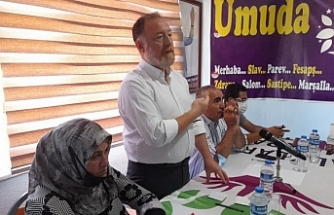 Erciş'te halk buluşması: Çözümün yolu İmralı'dır