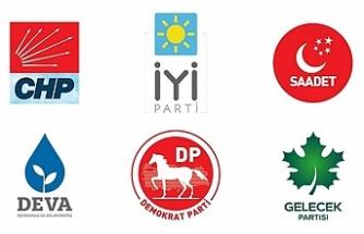 6 parti Parlamenter Sistem'de uzlaştı; tek aday belirlenecek