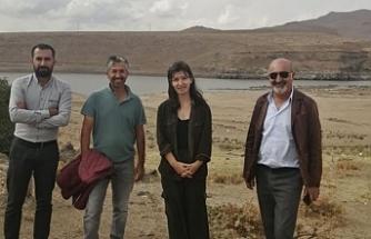 Erciş'te Gelîyê Zîlan'da yapılan HES'e ilişkin keşif yapıldı