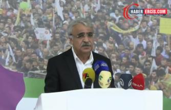 HDP Eş Genel Başkanı Sancar: Deklarasyonumuz çözümün anahtarıdır